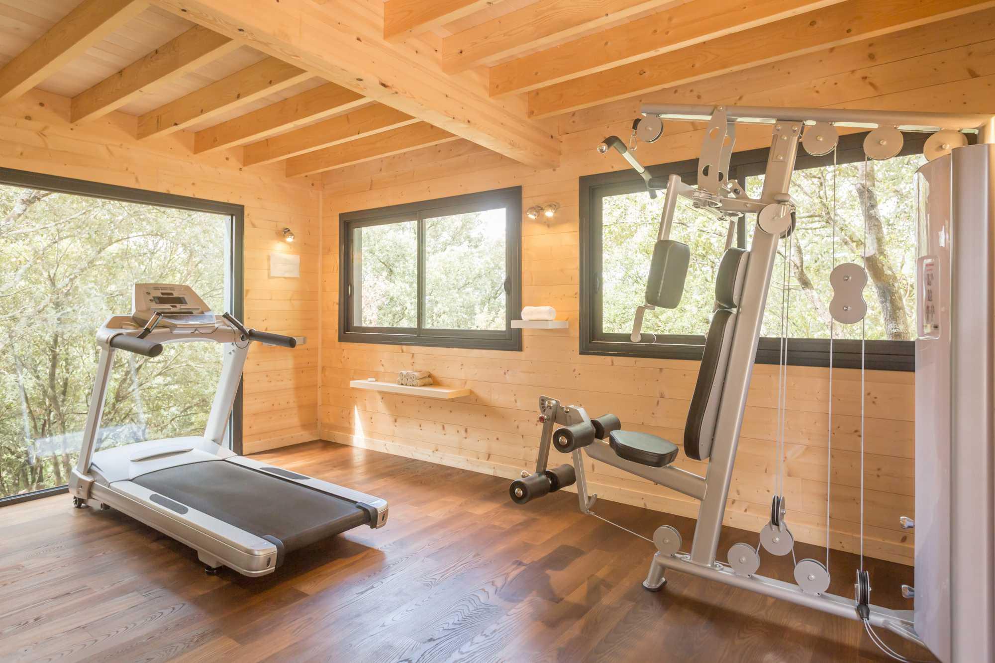 domaine sévenier espace bien etre spa salle de fitness 1 - Bien être (Spa Ardèche)