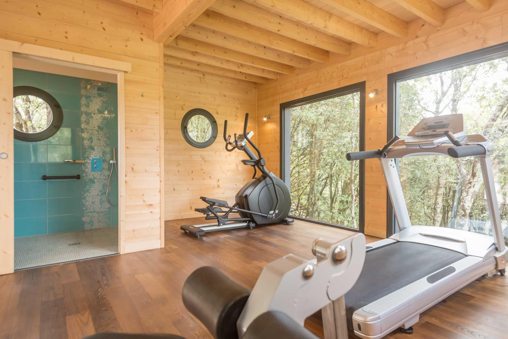 domaine sévenier espace bien etre spa salle de fitness 2 - Bien être (Spa Ardèche)