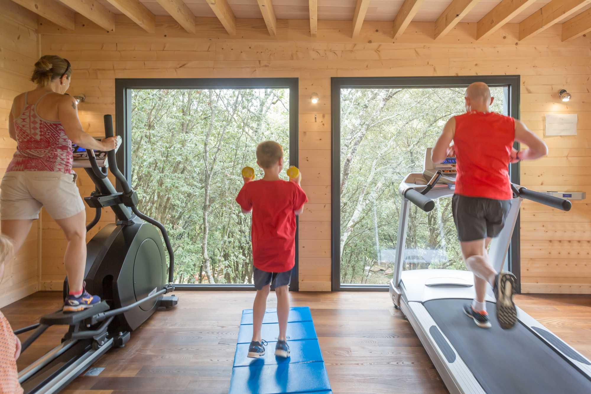 domaine sévenier espace bien etre spa salle de fitness 3 - Bien être (Spa Ardèche)