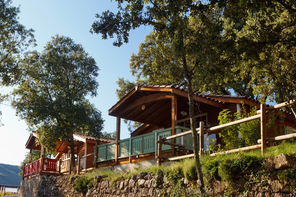 domaine sevenier camping location vacance en ardeche chalet chene blanc 9 - Galeries