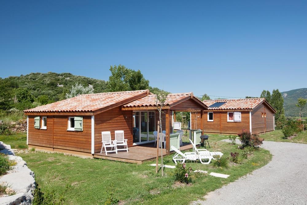 domaine sevenier camping location vacance en ardeche chalet chene vert 7 - Galeries