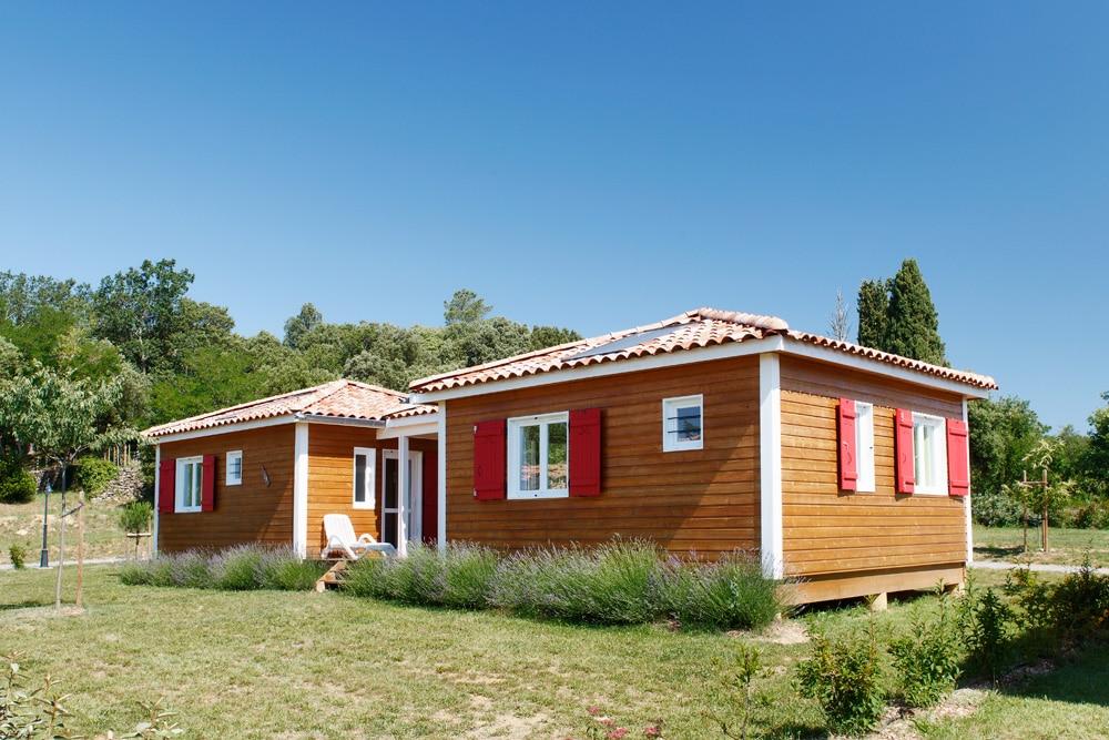 domaine sevenier camping location vacance en ardeche chalet frene 2 - DOMAINE DE SEVENIER 2012
