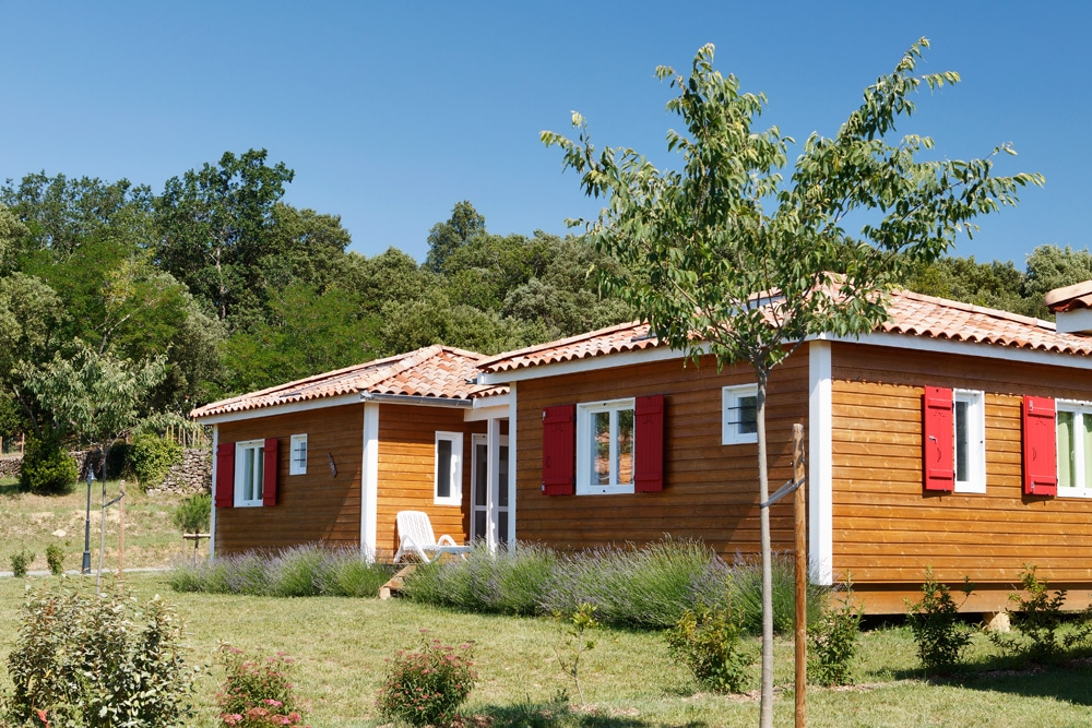 domaine sevenier camping location vacance en ardeche chalet frene 3 - Galeries