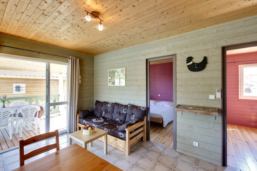 domaine sevenier camping location vacance en ardeche chalet micoucoulier 9 - DOMAINE DE SEVENIER 2012