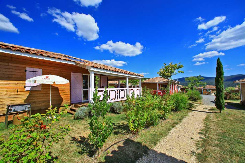 domaine sevenier camping location vacance en ardeche chalet olivier 2 - Galeries