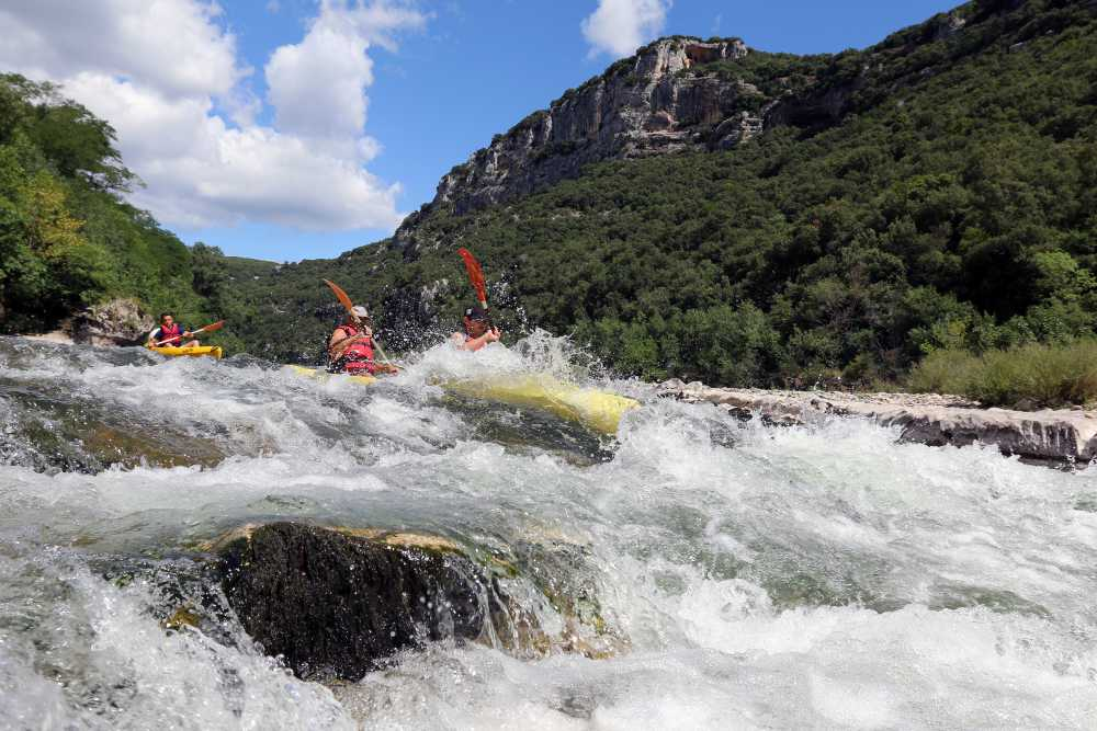 domaine sevenier camping 5 etoiles ardeche alentours sport canoe - Galeries