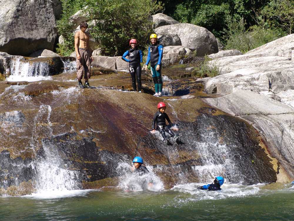 domaine sevenier camping 5 etoiles ardeche alentours sport canyoning - Galeries photo
