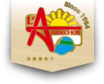 logo ardechois - Présentation du camping Ardèche 5 étoiles
