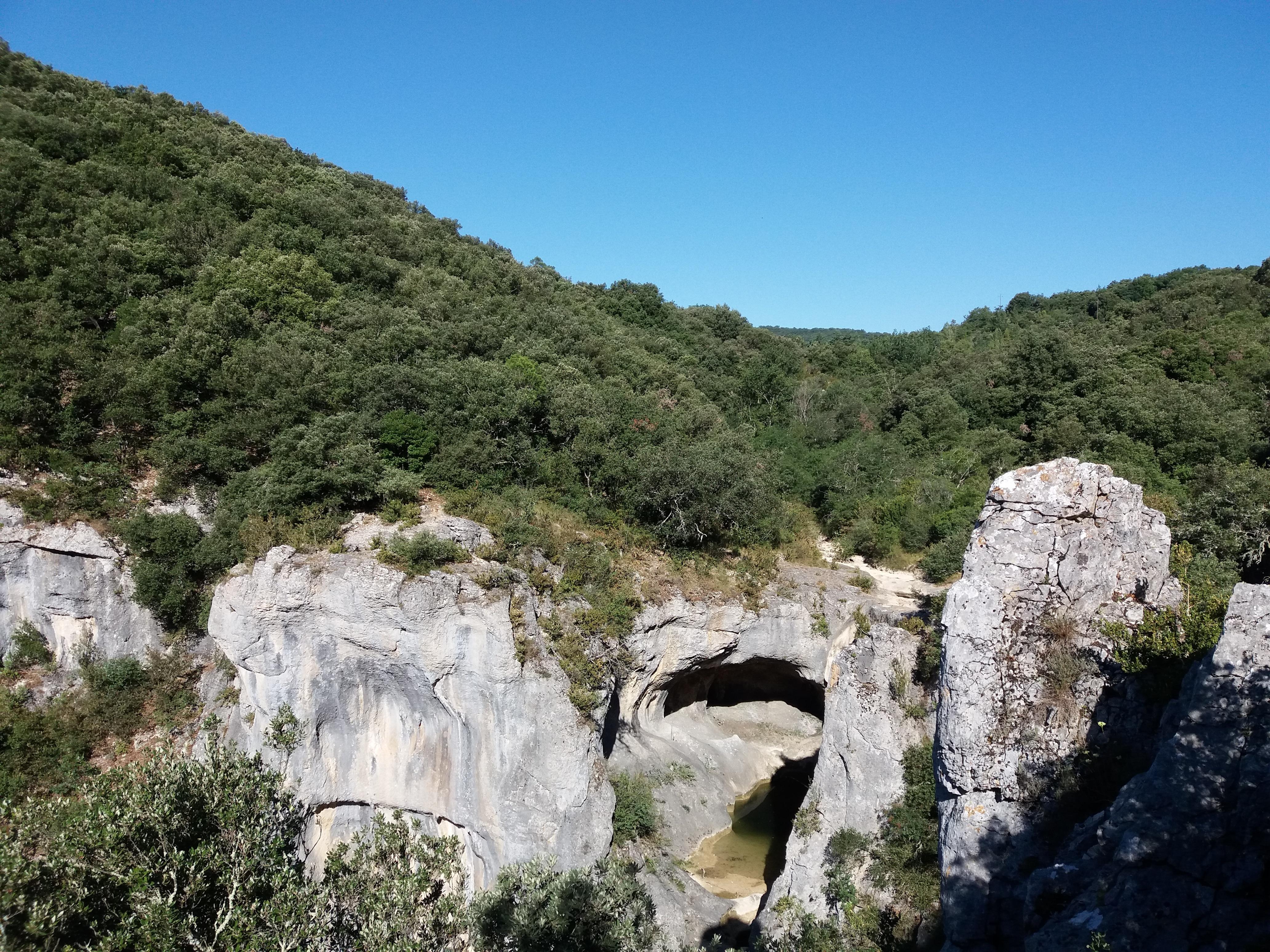 Lagorce La Sompe ou Font Garou 05 - Accueil