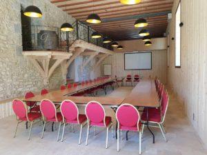 domaine de sevenier and spa seminaire Vue salle 2 300x225 - Séminaire / Réception en Ardèche