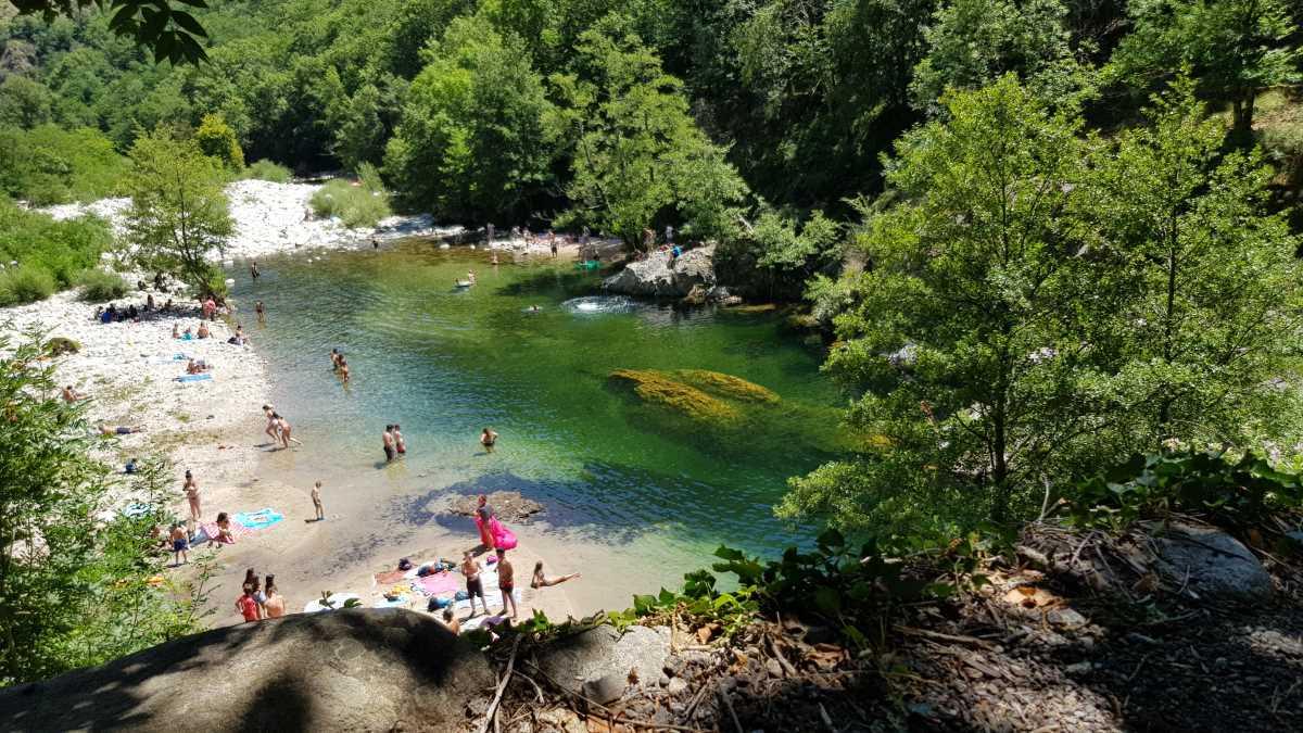 Domaine de sevenier presentation Pont du Diable - Présentation du camping Ardèche 5 étoiles