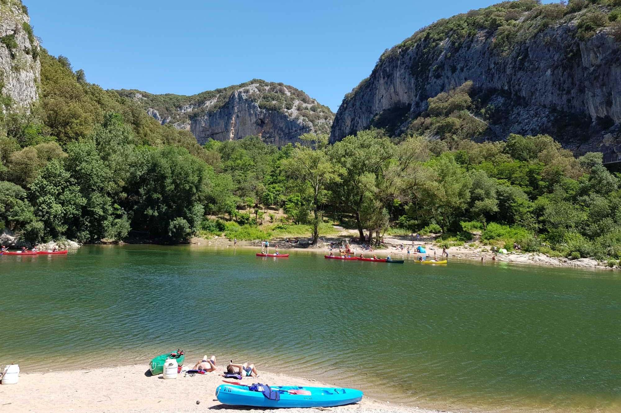 domaine sevenier camping decouvert vallons pont arc 1 - Aux Alentours en Ardèche